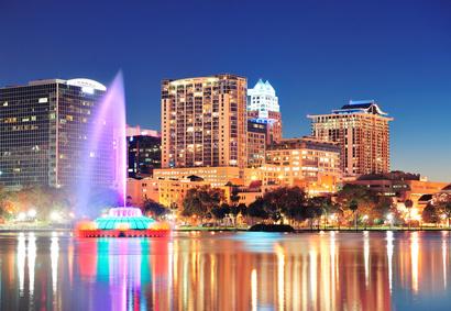 مدينة أورلاندو فلوريدا