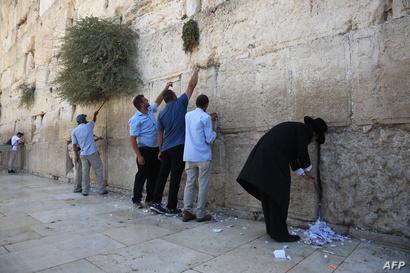 حائط المبكى في إسرائيل