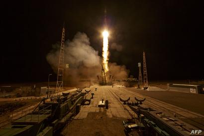 إطلاق إحدى البعثات الفضائية إلى محطة الفضاء الدولية من محطة بايكونور - 15 آذار/مارس 2019