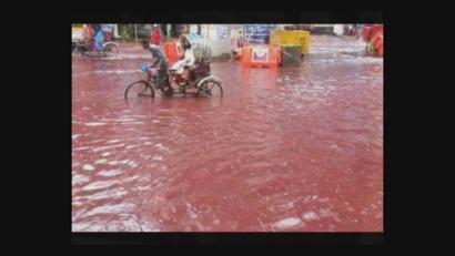 الدماء اختلطت بمياه الأمطار