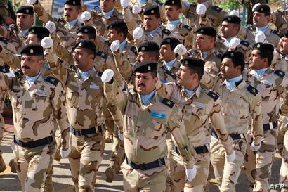 عناصر من الجيش العراقي