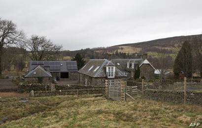 مزرعة في المرتفعات الاسكتلندية