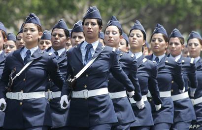 كتيبة بالبحرية المغربية خلال عرض عسكري