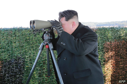 الزعيم الكوري كيم جونغ أون