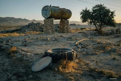 حتى الآبار وخزانات المياه لم تسلم من تدمير تنظيم داعش_ الصورة من منظمة أمنستي