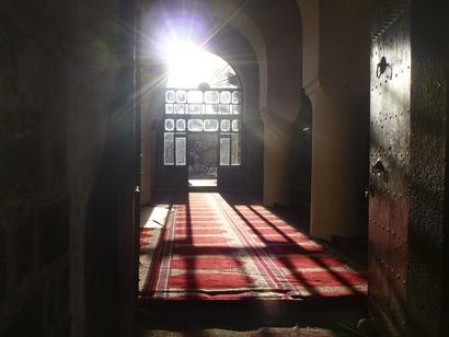 مسجد قديم في العاصمة صنعاء