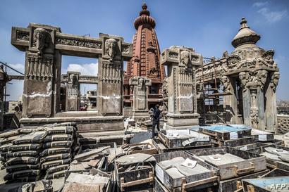 أجزاء لم ترمم بعد من قصر البارون - 18 أغسطس 2019