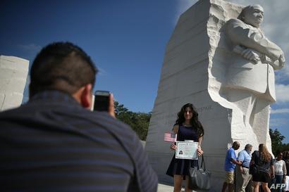 نصب تذكاري في واشنطن لمارتن لوثر كنغ