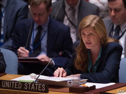 المندوبة الأميركية لدى الأمم المتحدة سامنثا باور