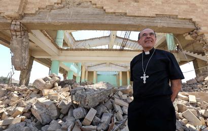 أنقاض كنيسة شرق الموصل