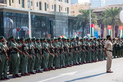 قوات تابعة لسلاح البر الإماراتي