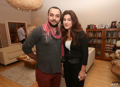"""مخرجة وثائقي """"الميدان"""" جيهان نجيم ومنتجه كريم عامر"""