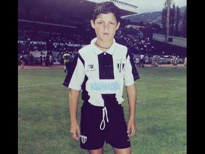 كريستيانو رونالدو عندما كان طفلا