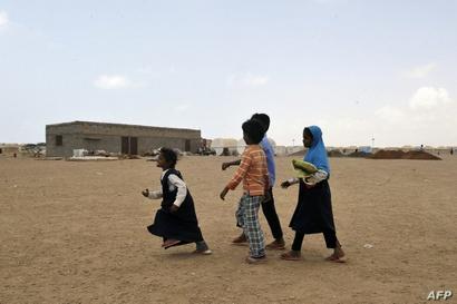 أطفال يمينون في مناطق نائية