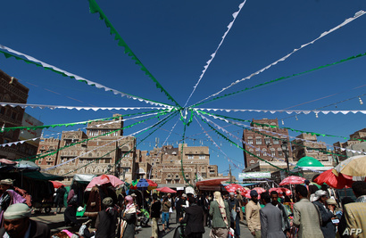مشهد من العاصمة اليمنية صنعاء