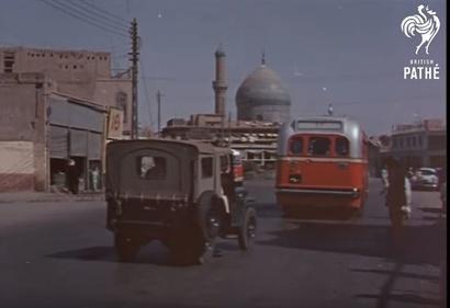 حافلات متجهة إلى بغداد