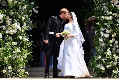 الأمير هاري وزوجته ميغان ميركل