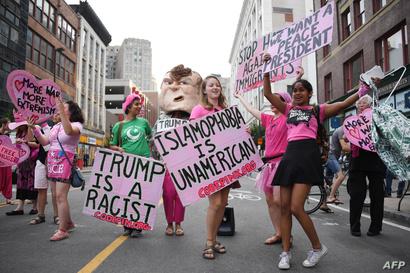 مظاهرات معارضة لترامب