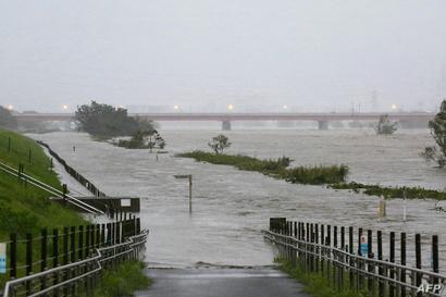 ارتفع منسوب المياه في الأنهر بسبب هطول أمطار غزيرة