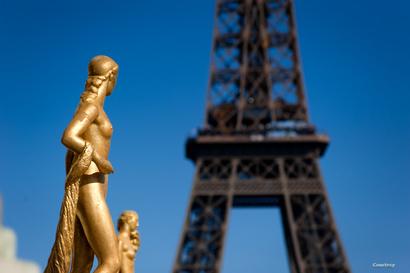 مجسم للذهب في فرنسا