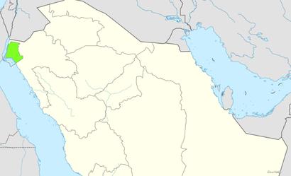 موقع نيوم في شمال غرب السعودية