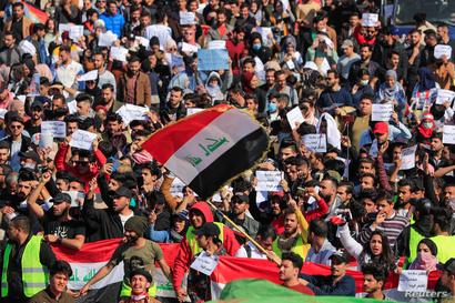 استمرار احتجاجات الطلاب في العراق