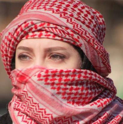 الناشطة والصحفية العراقية فاطمة الدليمي