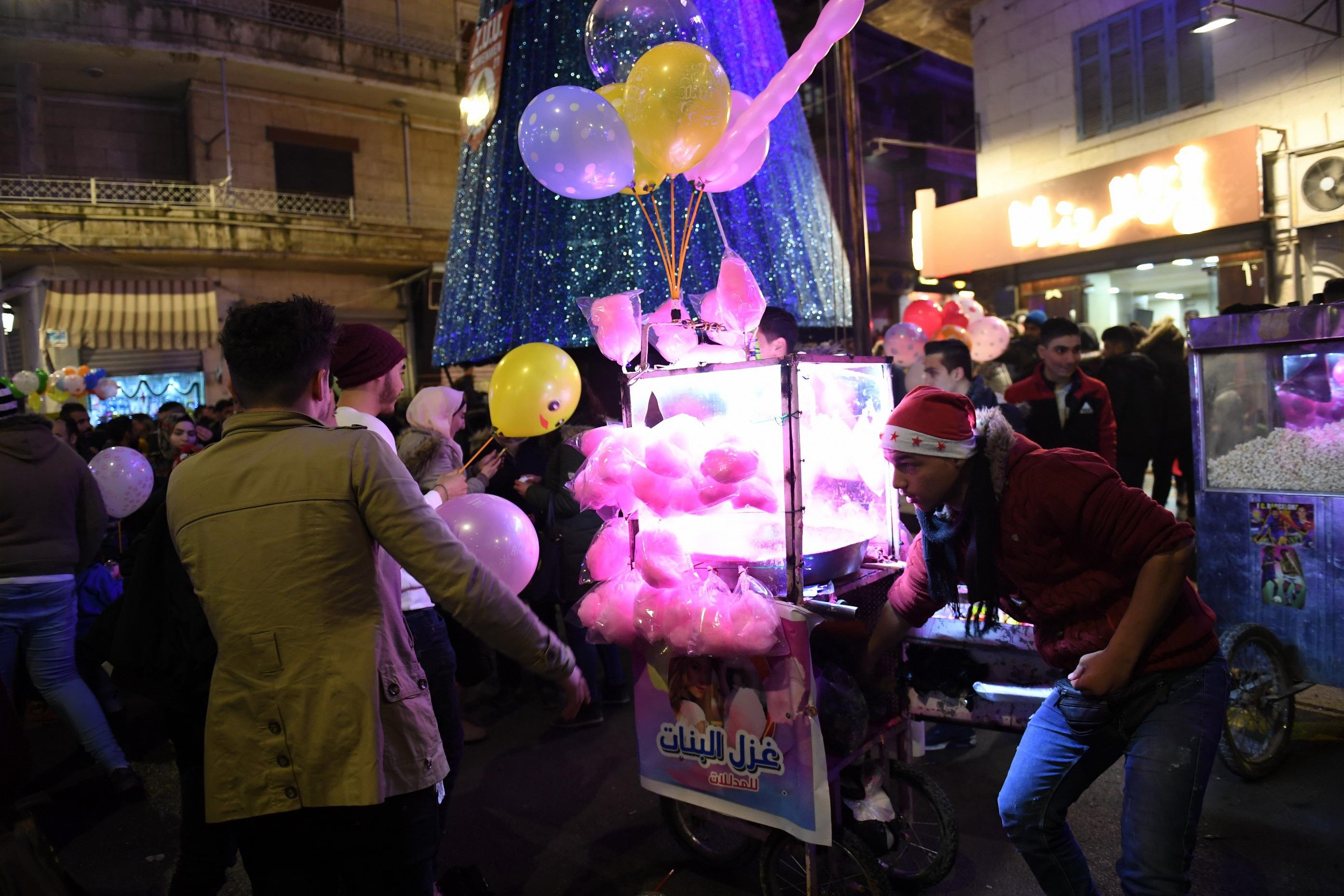 احتفالات رأس السنة في حلب