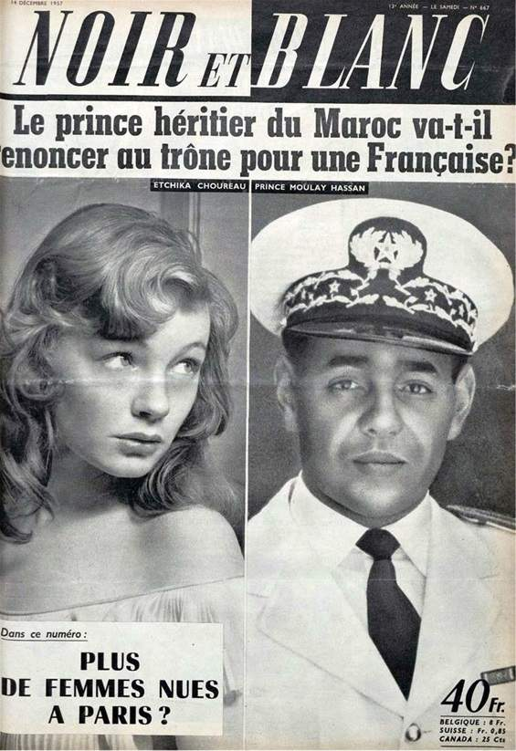 """غلاف مجلة """"نوار إبلون"""" الفرنسية - نشرته مجلة """"تيل كيل"""" المغربية"""