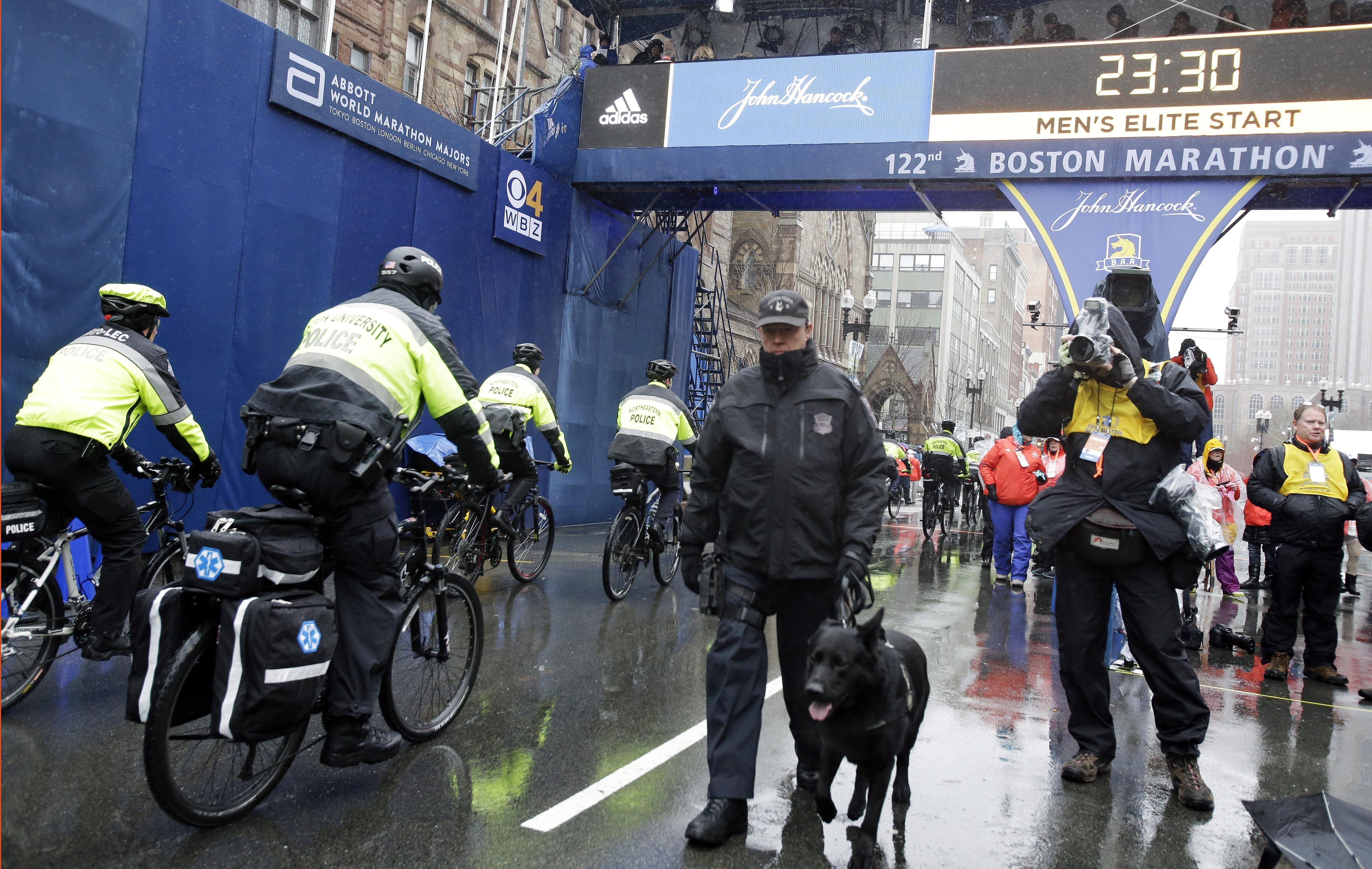 إجراءات أمنية مشددة ترافق ماراثون بوسطن