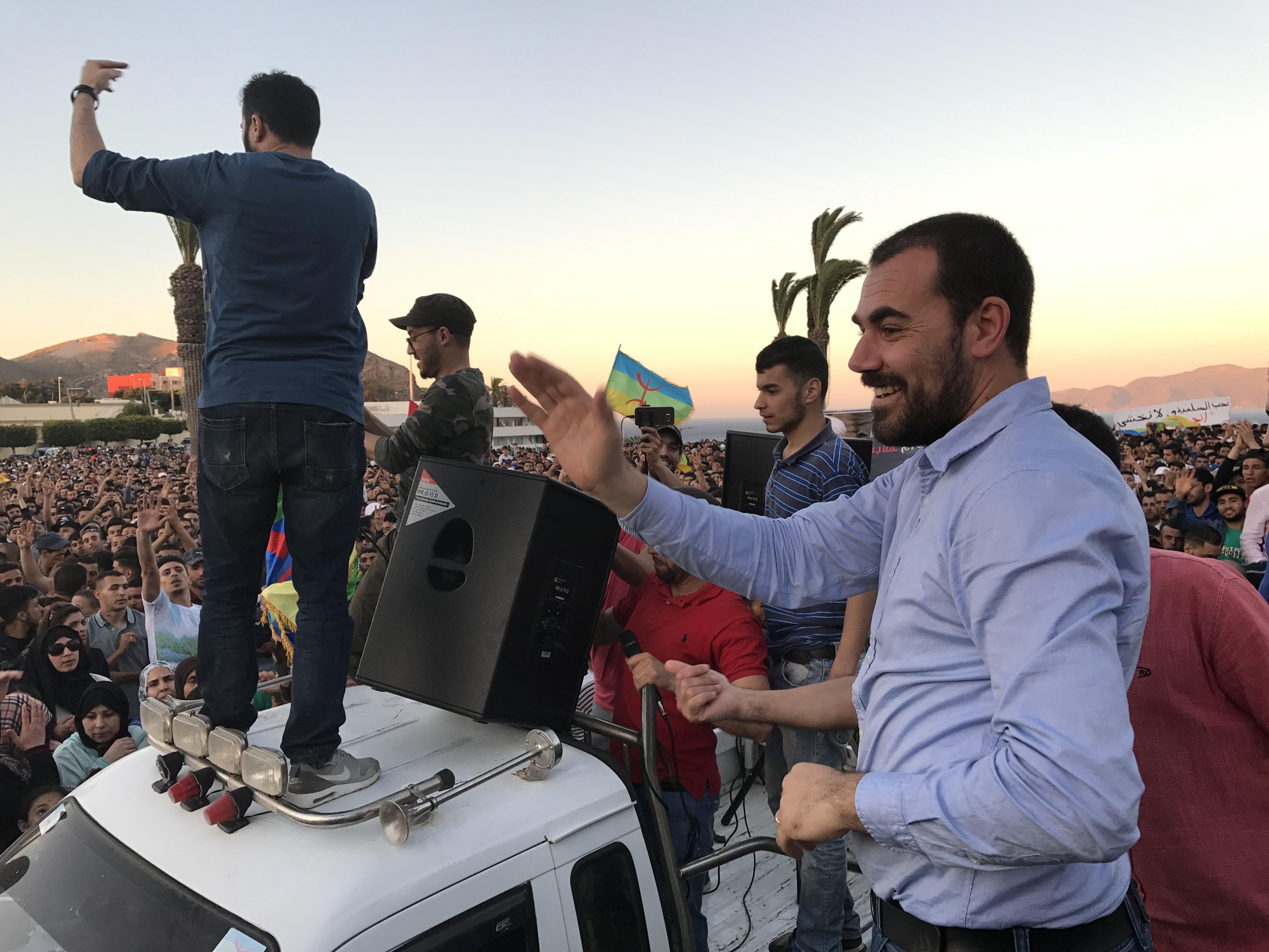 أيقونة حراك الريف ناصر الزفزافي