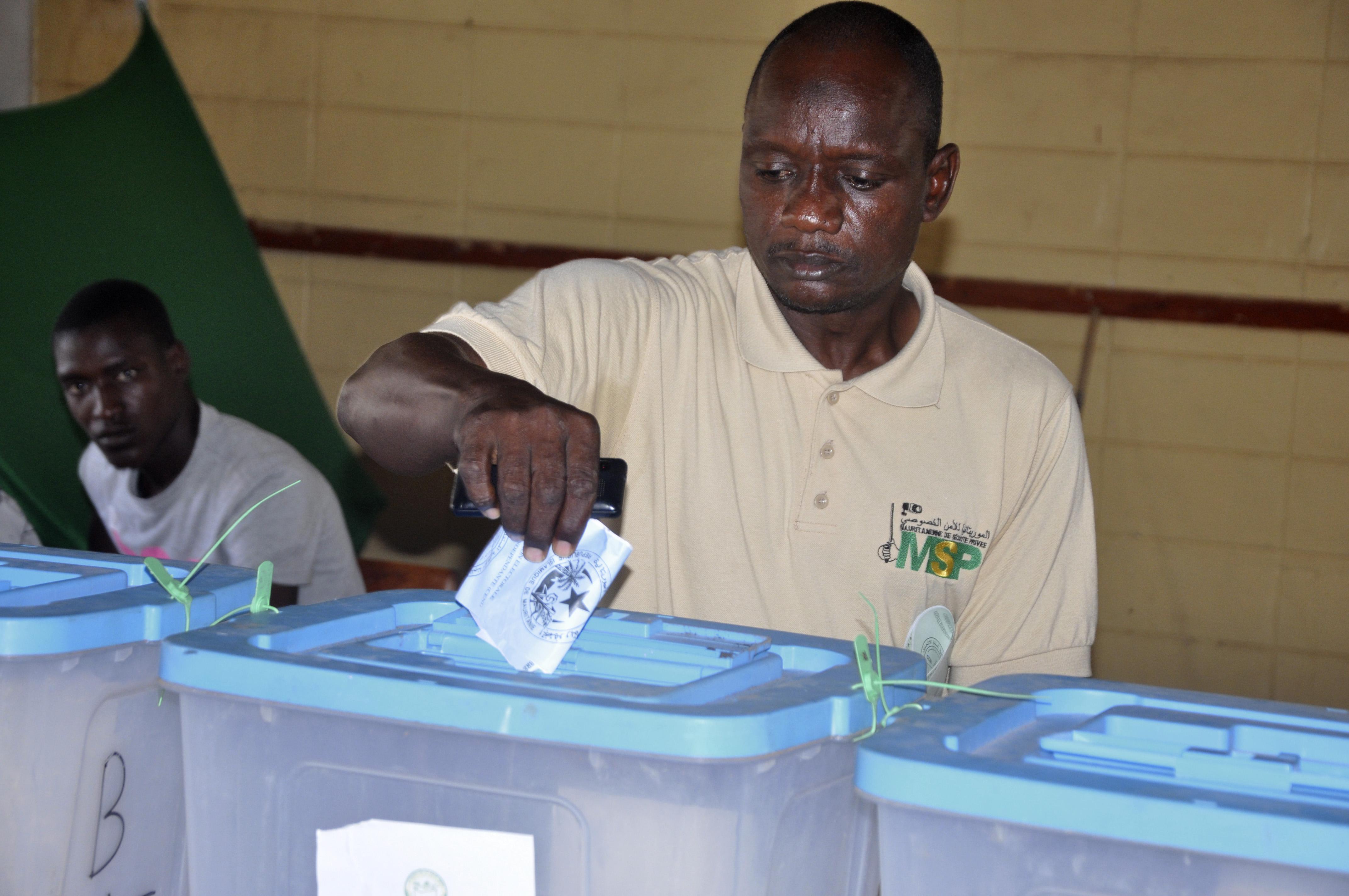 انتخابات سابقة في موريتانيا