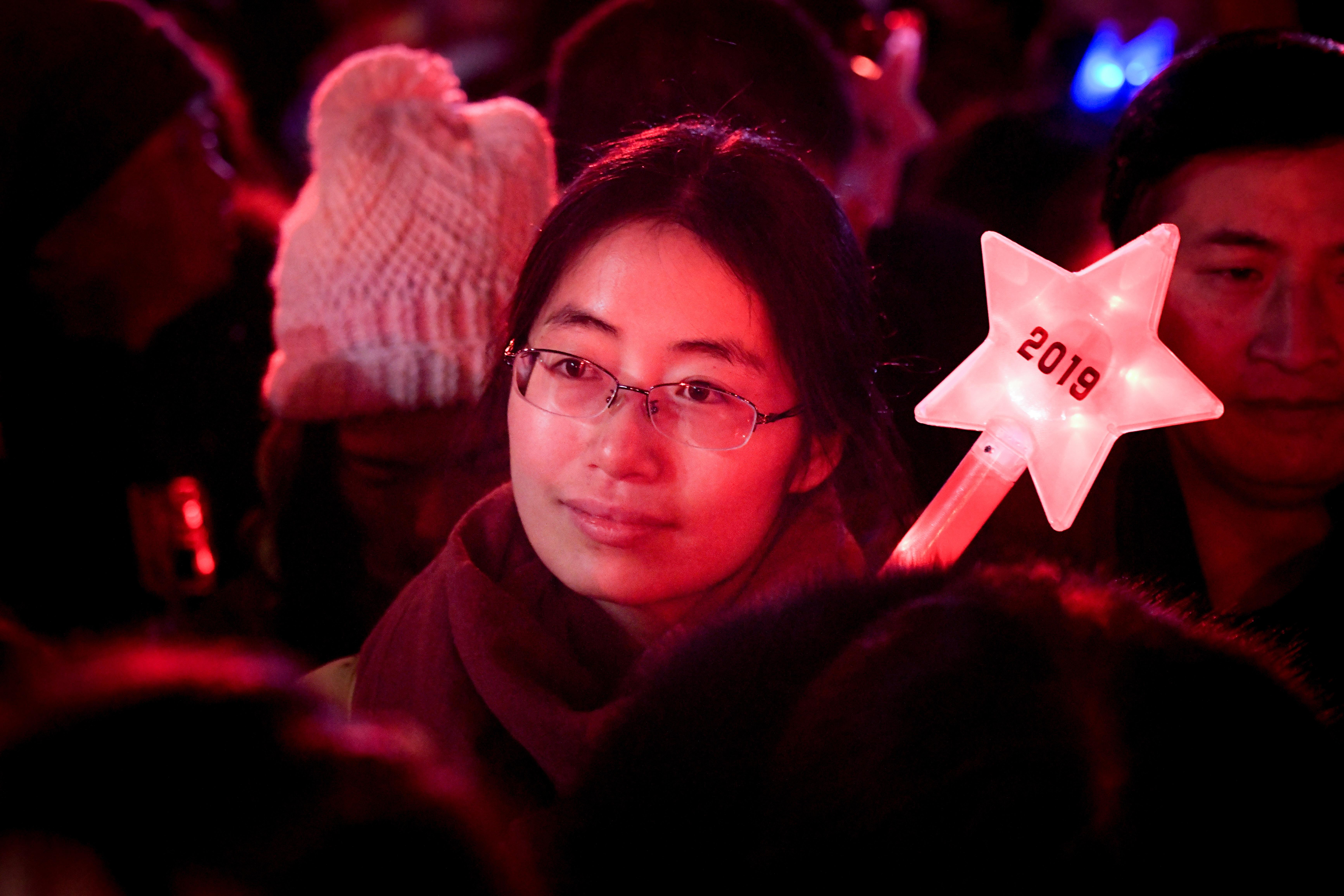 صينية في احتفالات رأس السنة