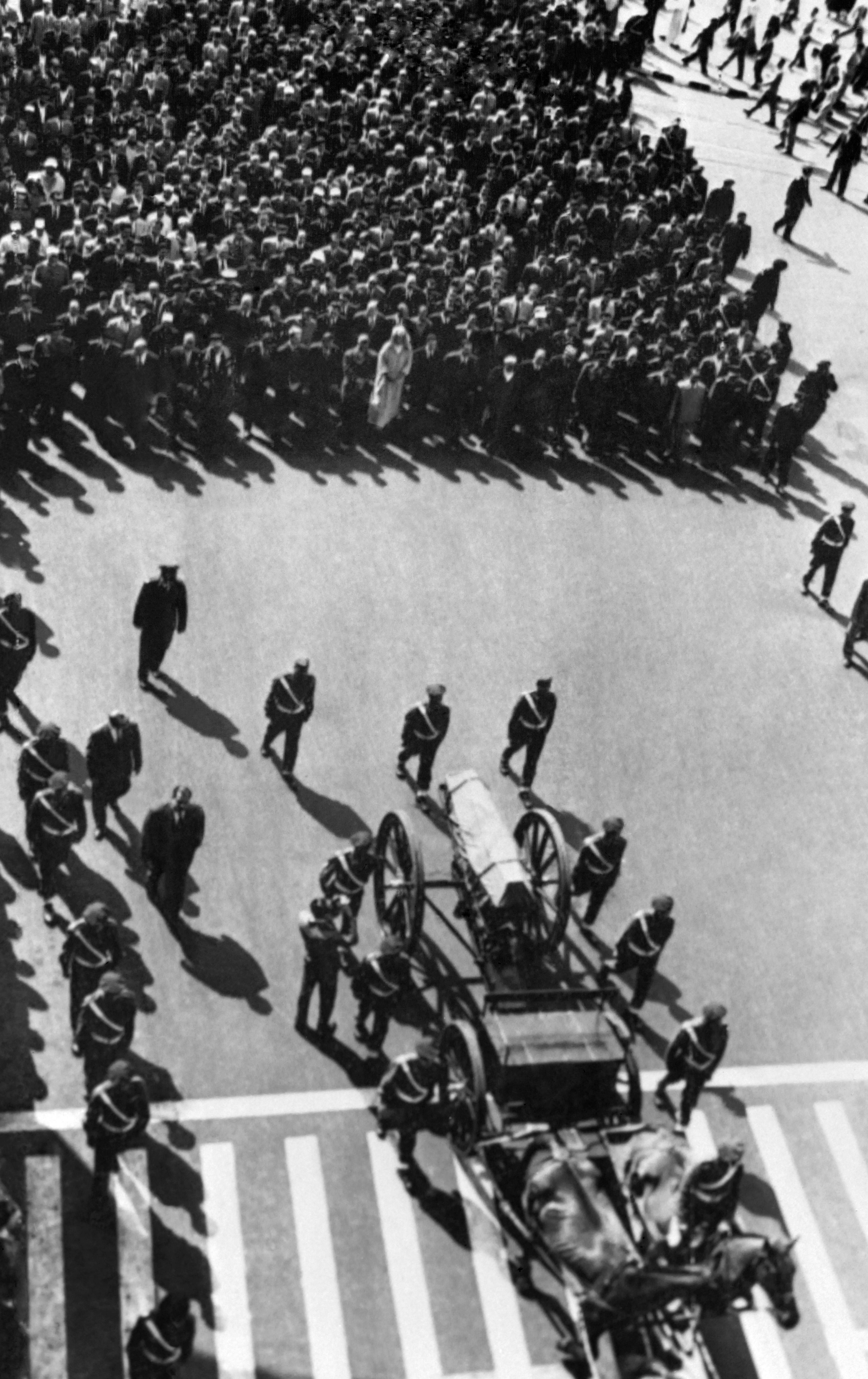جنازة الخطابي عام 1963