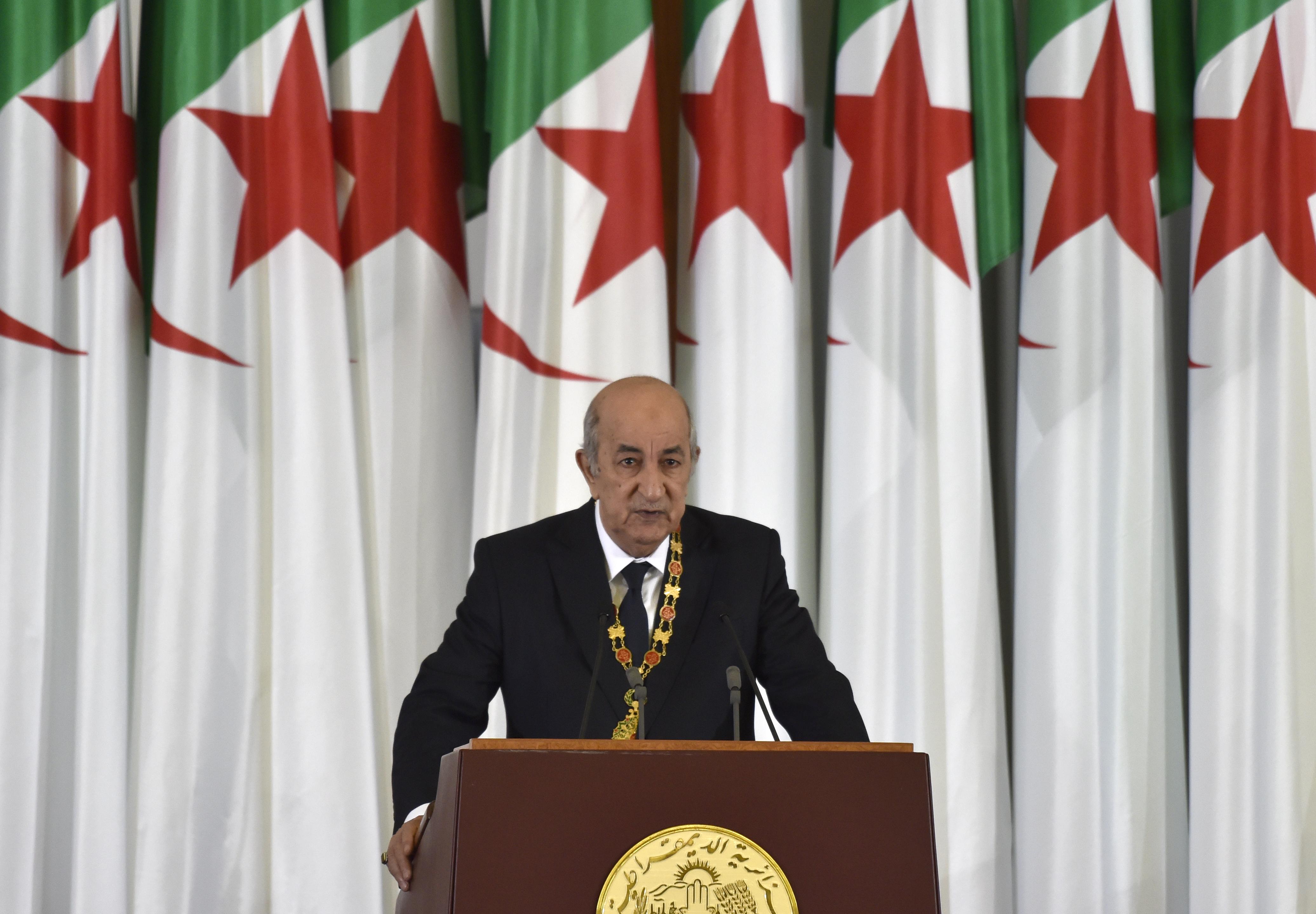 عبد المجيد تبون في خطاب عقب أداء اليمين الدستورية