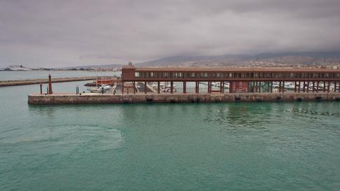 جسري بحري في مدينة مليلية