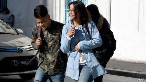 تلاميذ من تونس - أرشيف