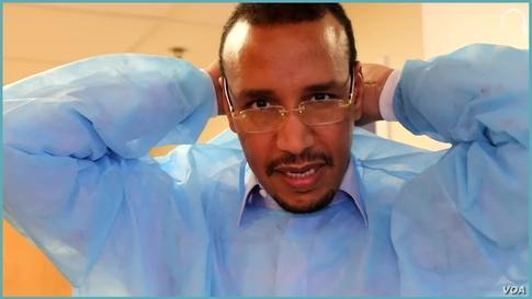 طبيب موريتاني بأميركا