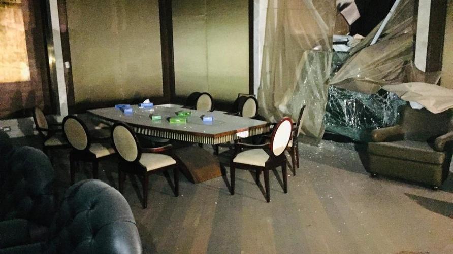 مقر مجلس النواب الجديد بعد القصف