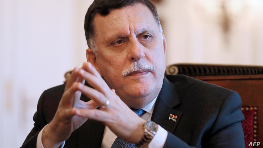 رئيس حكومة الوفاق الوطني الليبية فائز السراج (أرشيف)