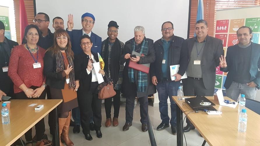 من لقاء المقررة الأممية بمنظمات أمازيغية