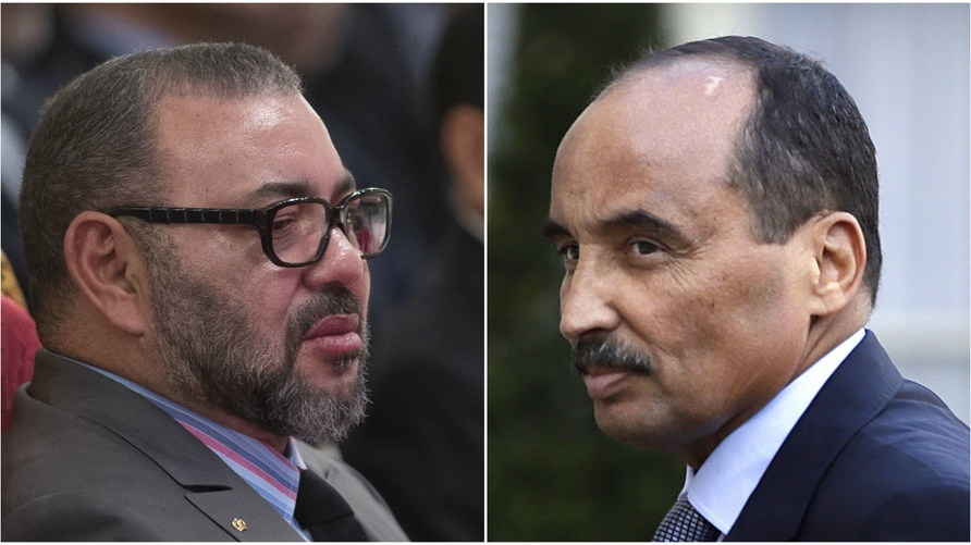 محمد السادس ومحمد ولد عبد العزيز