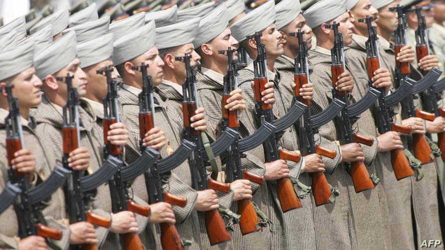 جنود مغاربة في عرض عسكري - أرشيف