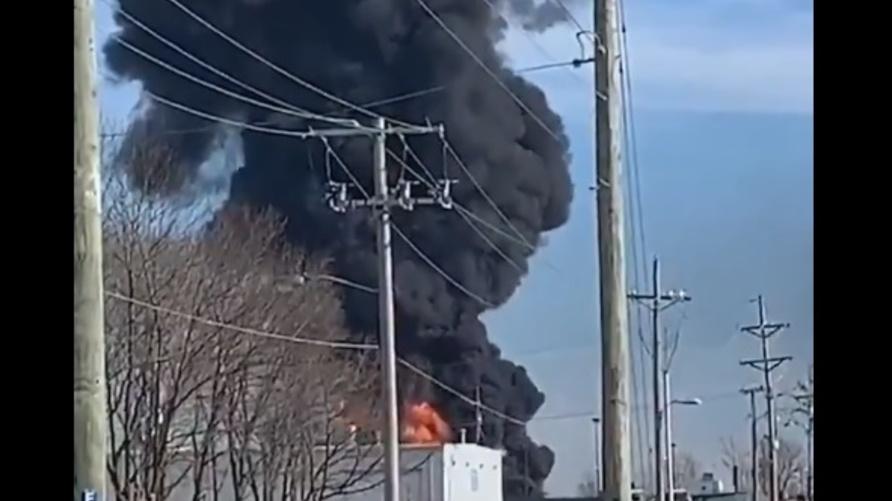 حريق في أركنسا