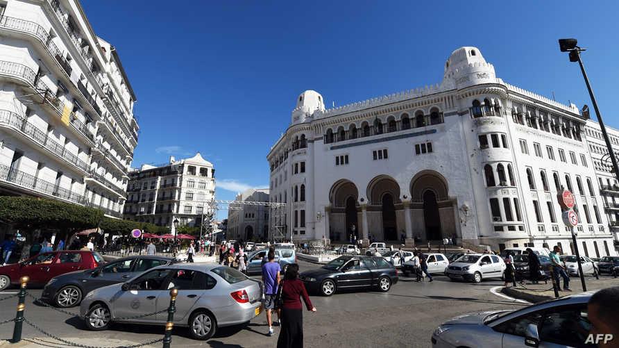 وسط العاصمة الجزائرية