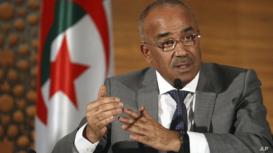 الوزير الأول الجزائري المكلف نور الدين بدوي