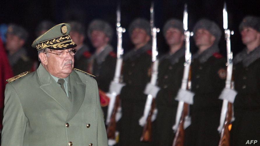 نائب وزير الدفاع قائد الأركان الفريق قايد صالح