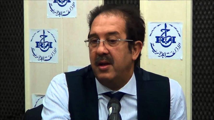 رئيس اللجنة الأولمبية الجزائرية مصطفى بيراف