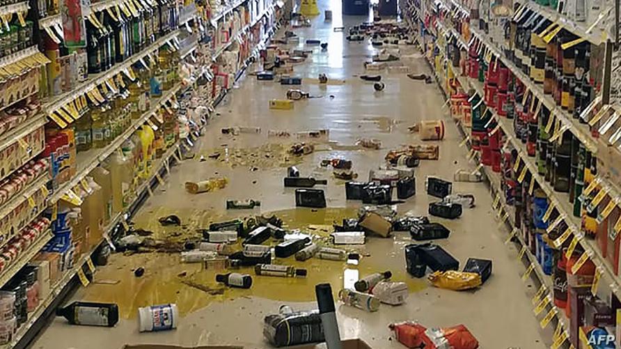 هنا ضرب زلزال بقوة 6.4 جنوبي كاليفورنيا