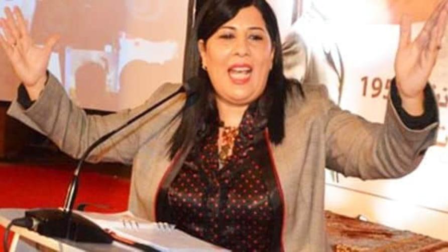 رئيسة الحزب الدستوري الحر في تونس، عبير موسي